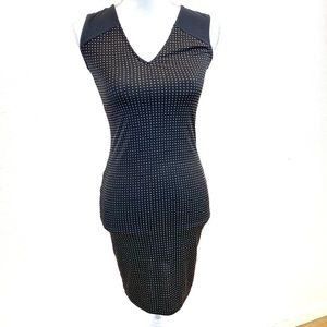 Rachel Roy Black x Gold Studded Dress Size XS